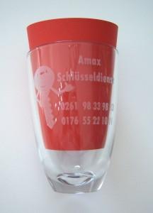 Laser glas grvur in Koblenz