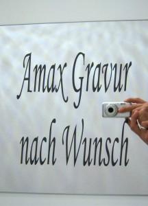 Spiegel gravur Koblenz