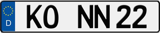 Autoschilder Koblenz